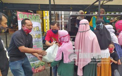 Bazaar Sayur Murah dari Pejawaran sukses digelar