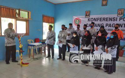Triyono Terpilih Sebagai Ketua PGRI Kecamatan Pagentan