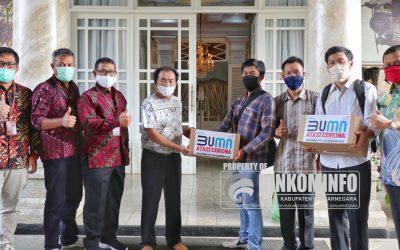 Telkom Bantu 250 Paket Sembako dan Masker untuk Penanganan Covid-19 di Banjarnegara