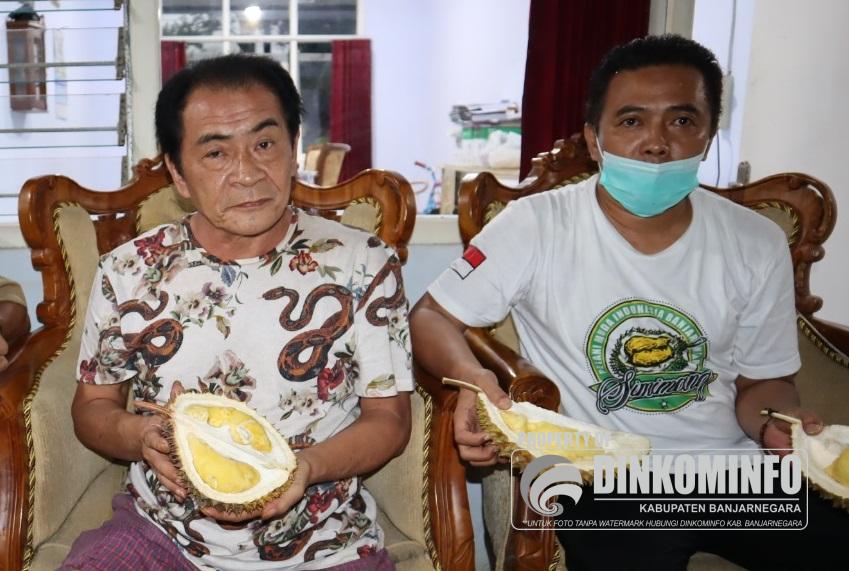 "Klomtan ""Mimang Jaya"" Banjarnegara Kembangkan Durian Simimang, Tembus Pasar Luar Jawa"
