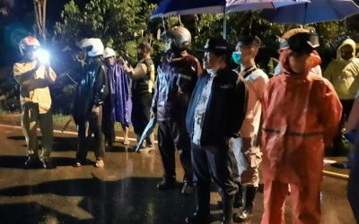 Bupati Banjarnegara Pimpin Penanganan Longsor di Sigaluh