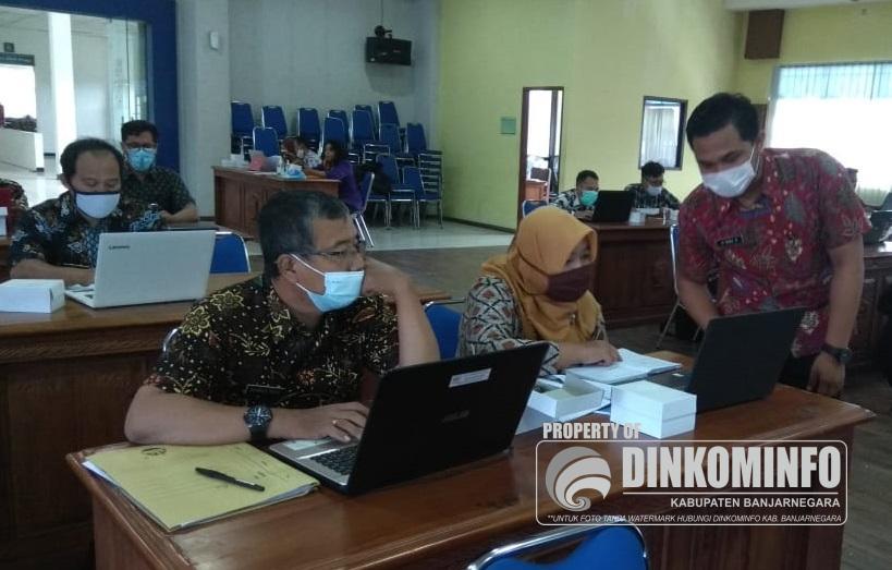 Pelatihan Pak Bejo, Sistem Pelaporan Kinerja Bankeudes Jateng Online
