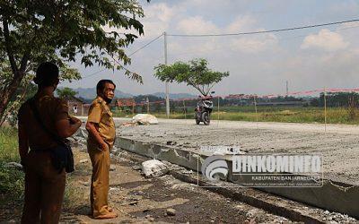 Jalan Pucang – Jenggawur Ditarget Kelar Sebelum Lebaran