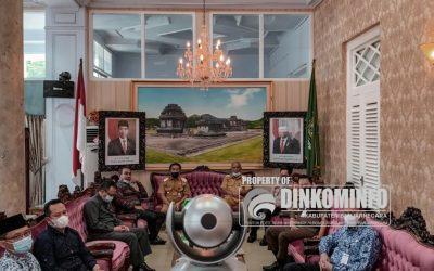 "Forkopimda Banjarnegara Ikuti Halalbihalal ""Virtual"" bersama Gubernur dan Wagub Jateng"