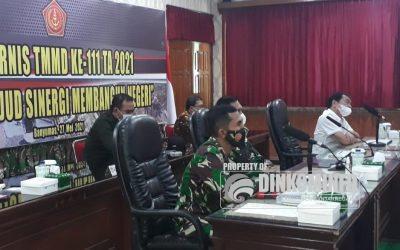 Bupati Banjarnegara Hadiri Rapat Persiapan TMMD ke 111 di Makorem 071/Wijayakusuma
