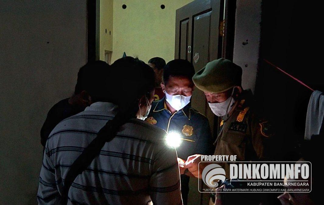 Razia Hotel dan Rumah Kos di Banjarnegara, 8 pasangan tidak sah diamankan