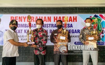 Desa Kalilunjar Juara 1 Lomba Administrasi Desa Tingkat Kabupaten