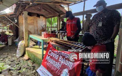 SIBAT Sokaraja Sosialisasikan Prokes dengan Kesenian Tek Tek
