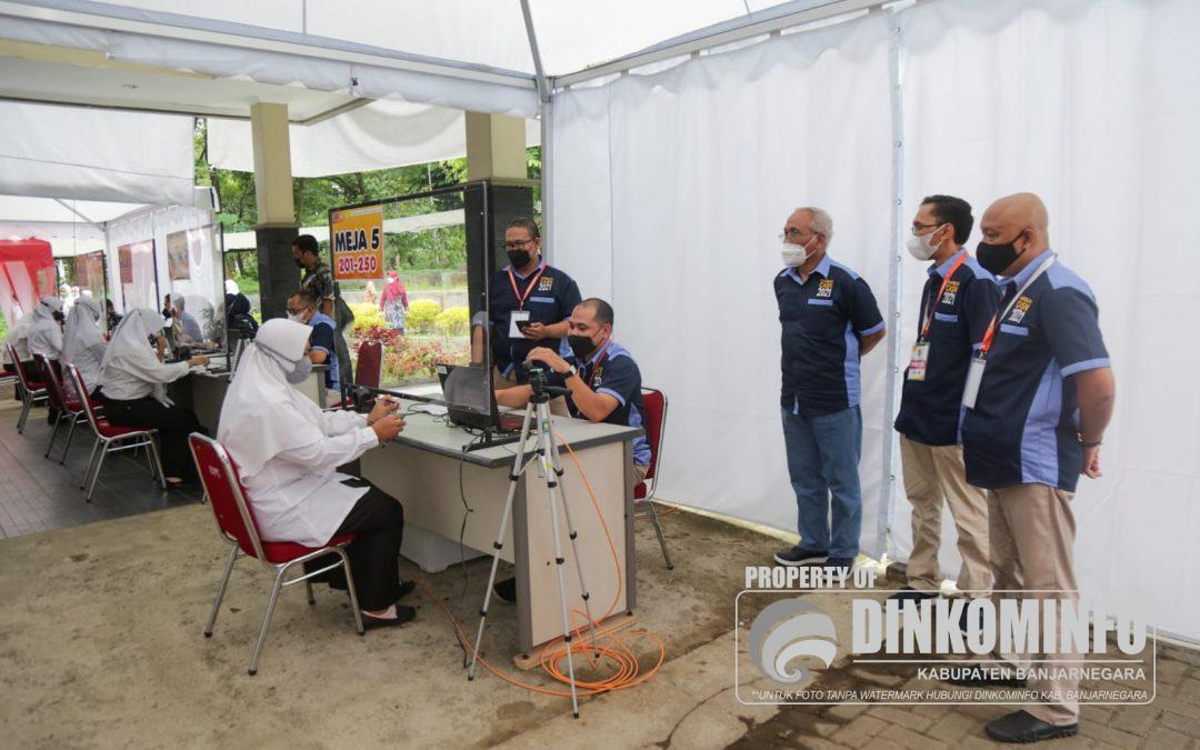 Plh Bupati Banjarnegara Tinjau Pelaksanaan SKD CPNS di Unsoed Purwokerto
